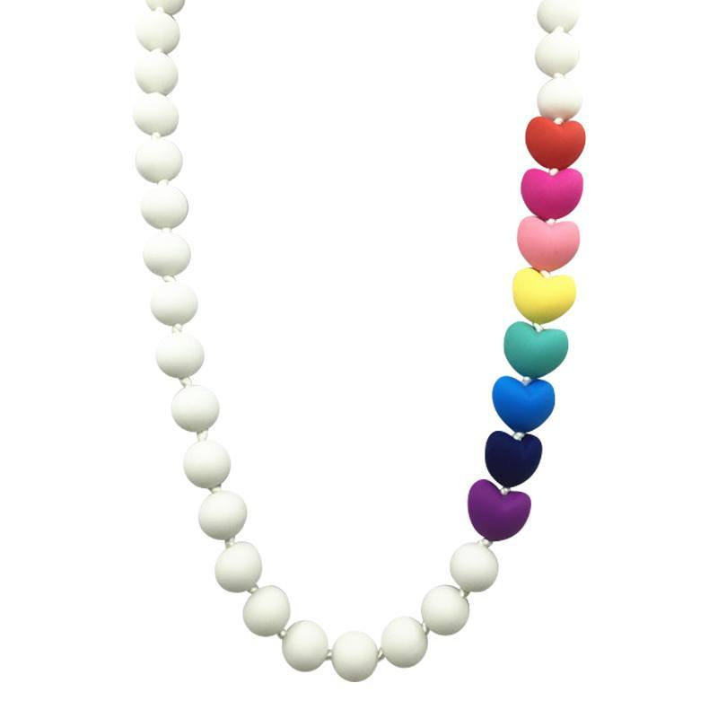 Forget Me Not Silicone Teething Necklace - Cashmere Bébé - 2