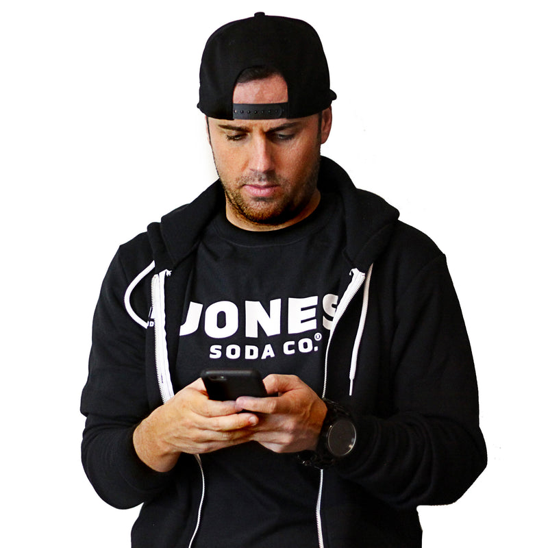 NEW Jones Zip Front Hoodie - Unisex