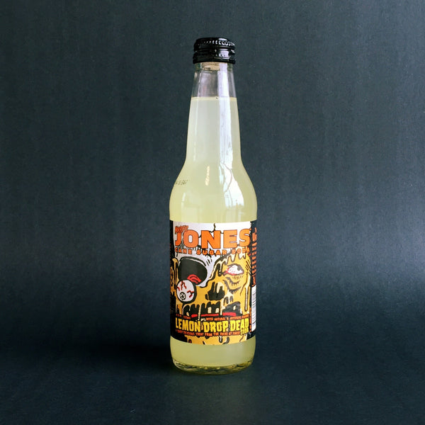 Jones Lemon Drop Dead Cane Sugar Soda