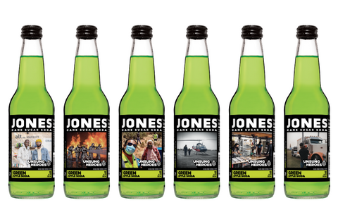 *NEW* Limited Edition UNSUNG HEROES Jones Green Apple 6-pack