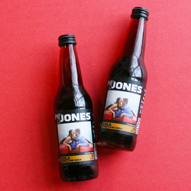 picture about Printable Perk a Cola Labels titled MyJones Custom made Classified Soda Jones Soda Co.