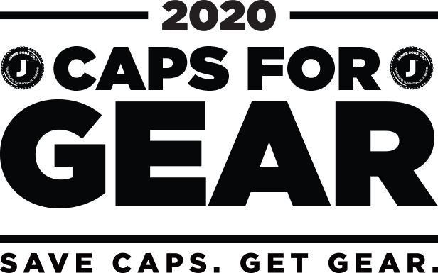 2020 Caps for Gear. Save caps. Get Gear.