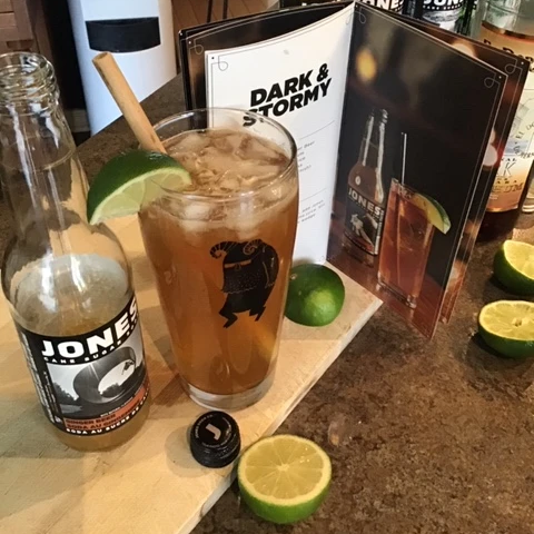 Moscow Mule and Jones Ginger Beer