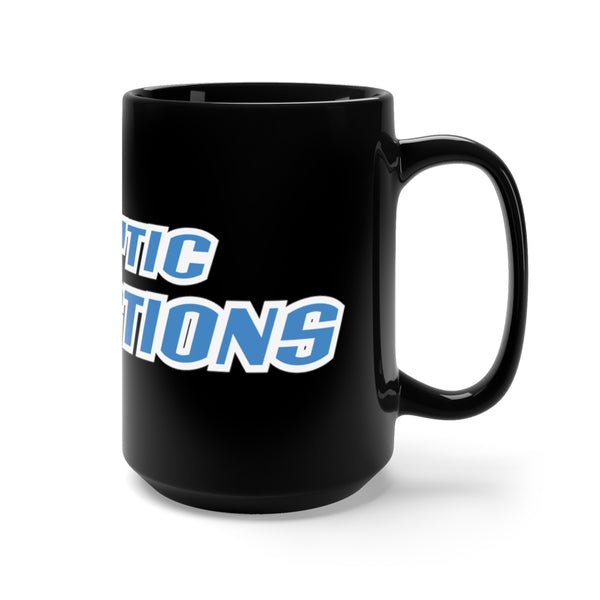 Cryptic Collections Black Mug 15oz
