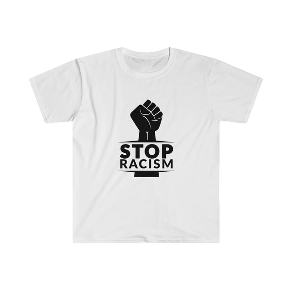 Stop Racism Unisex Fitted Short Sleeve Tee