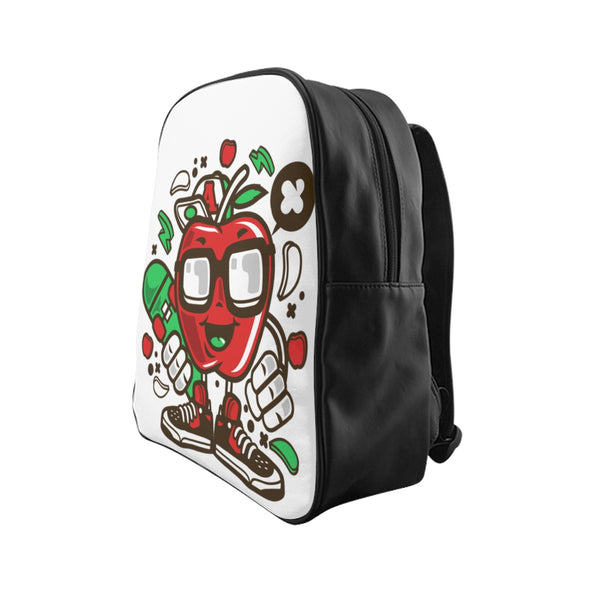 Apple Dude School Backpack - Apparelized