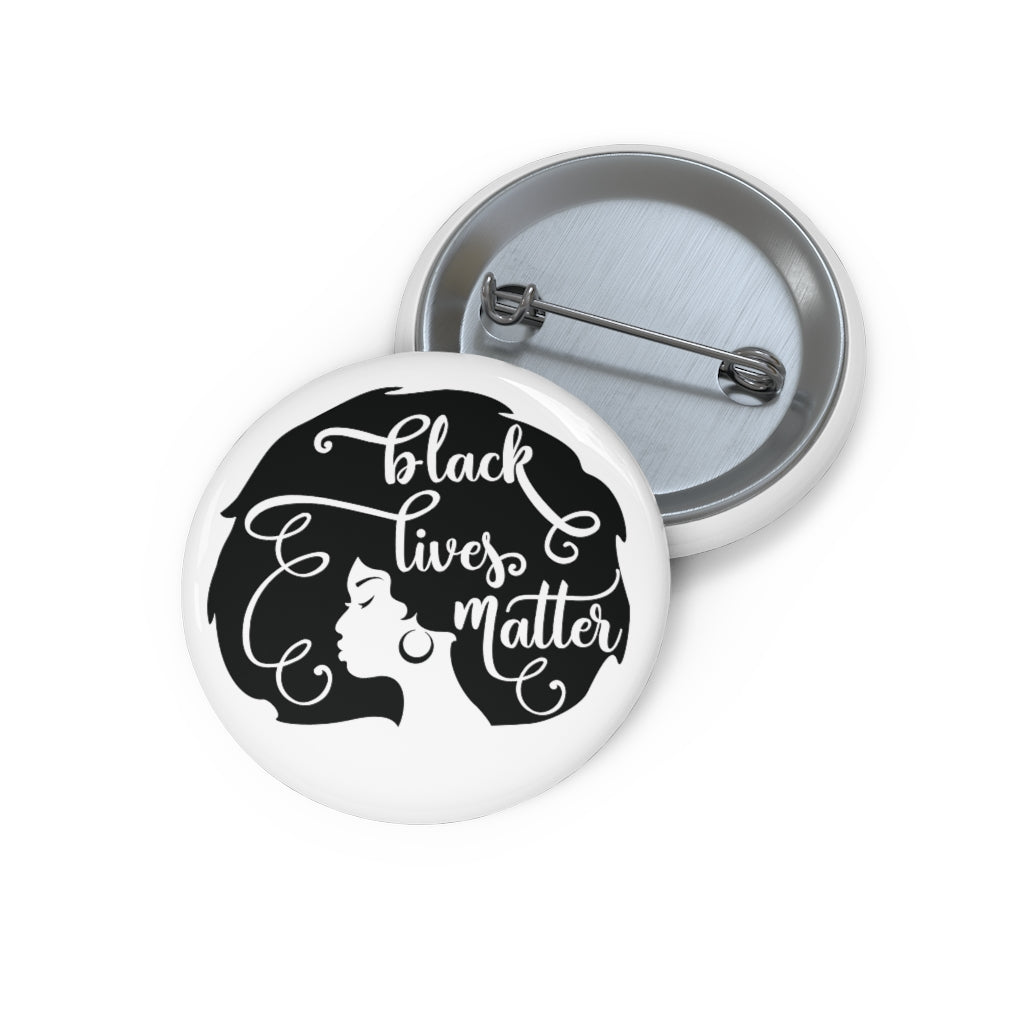 Black Women's Lives Matter Pin Buttons