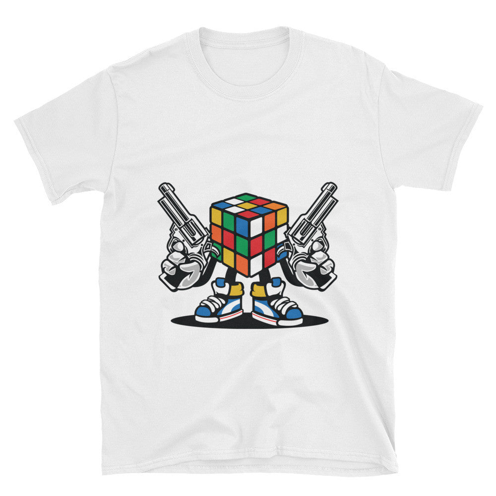 Rubick's Cube Gangsta Unisex T-Shirt - Apparelized