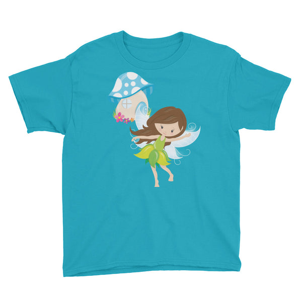 Dancing Fairy Youth Short Sleeve T-Shirt - Apparelized