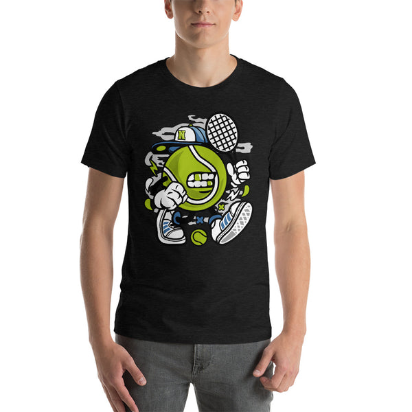 Hip Hop Gangsta Tennis Short-Sleeve Unisex T-Shirt - Apparelized