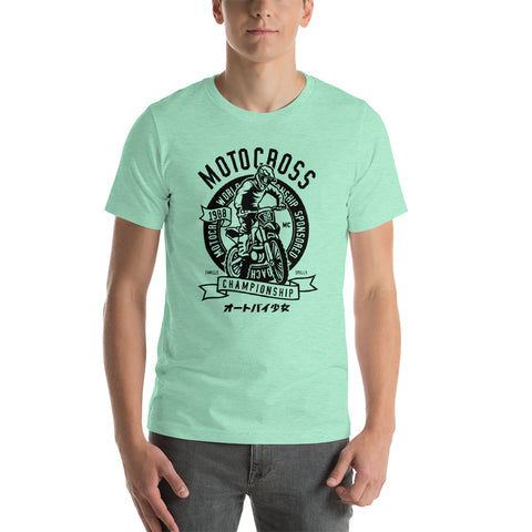 Motocross Short-Sleeve Unisex T-Shirt - Apparelized