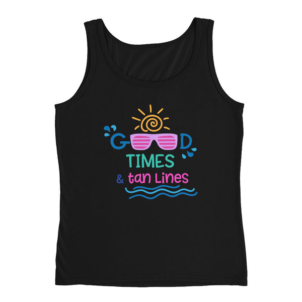 Good Times and Tan Lines Ladies' Tank - Apparelized