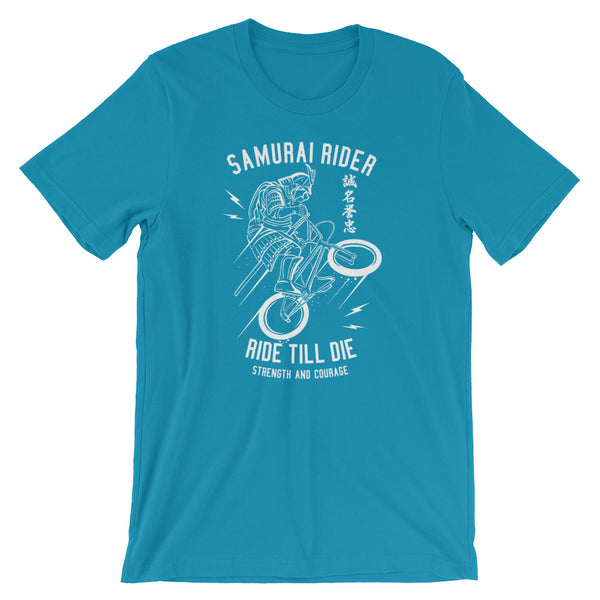 Samurai Rider Short-Sleeve Unisex T-Shirt - Apparelized