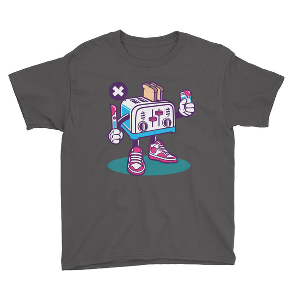 Toaster Youth Short Sleeve T-Shirt - Apparelized