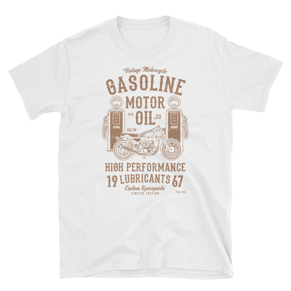 Retro Motorcycle Oil Shirt - Apparelized