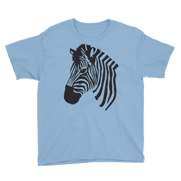 Zebra Youth Short Sleeve T-Shirt - Apparelized