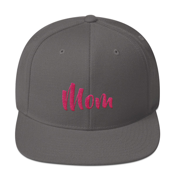 Mom Snapback Hat - Apparelized