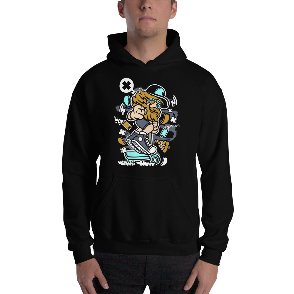 Razor Rider Hooded Sweatshirt - Apparelized