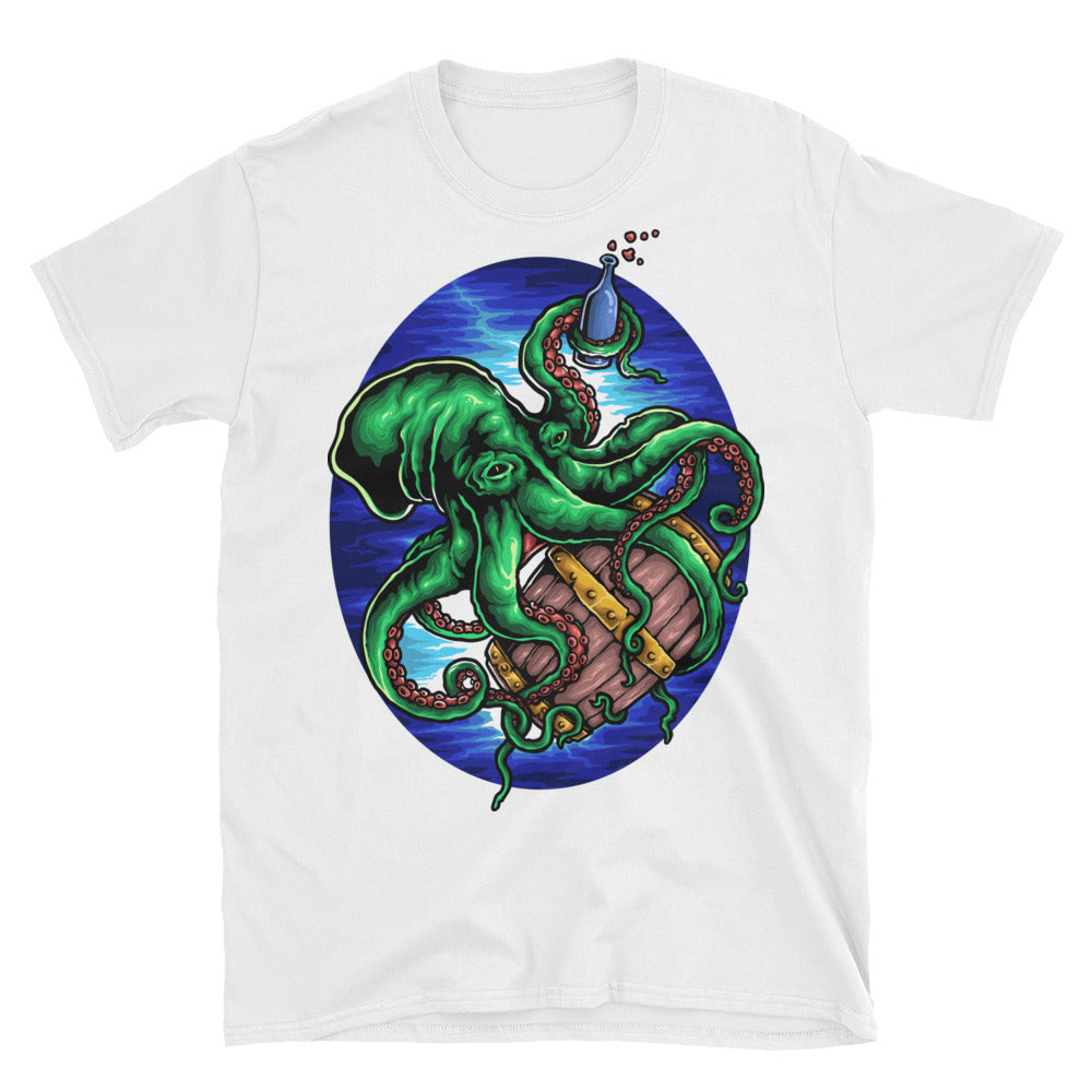 Drunk Sea Creature Short-Sleeve Unisex T-Shirt - Apparelized