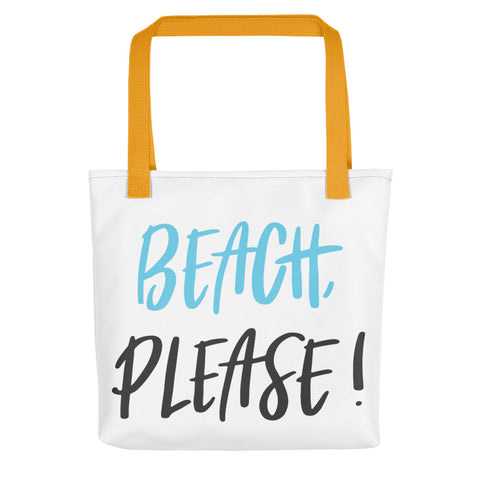 Beach Please Tote bag - Apparelized