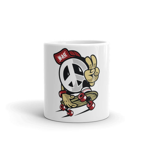 Peace Skater Mug - Apparelized