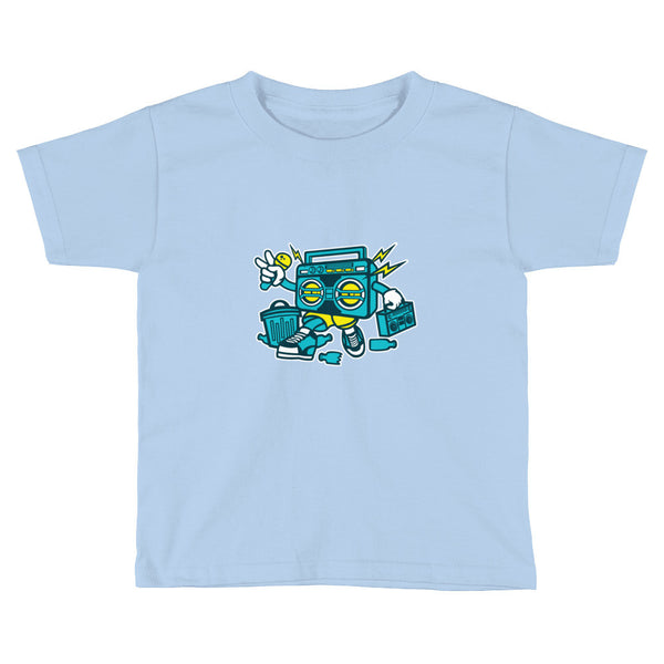 Boombox Toddler / Kids Short Sleeve T-Shirt - Apparelized