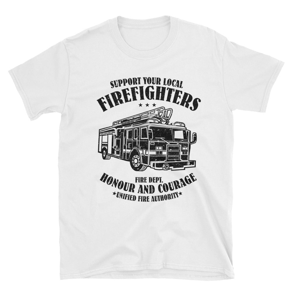 Firefighter Short-Sleeve Unisex T-Shirt - Apparelized