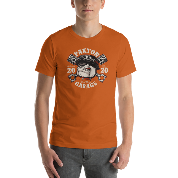 Paxton Garage Bulldog Short-Sleeve Unisex T-Shirt
