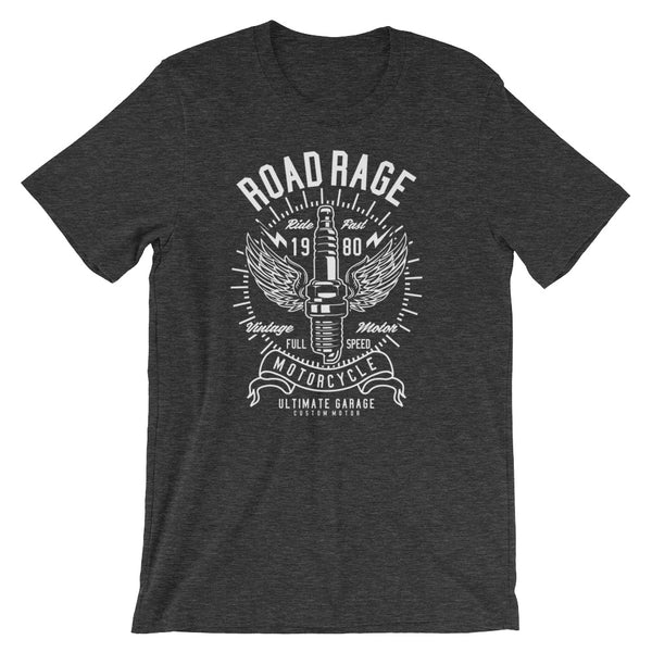Road Rage Garage Retro Short-Sleeve Unisex T-Shirt - Apparelized
