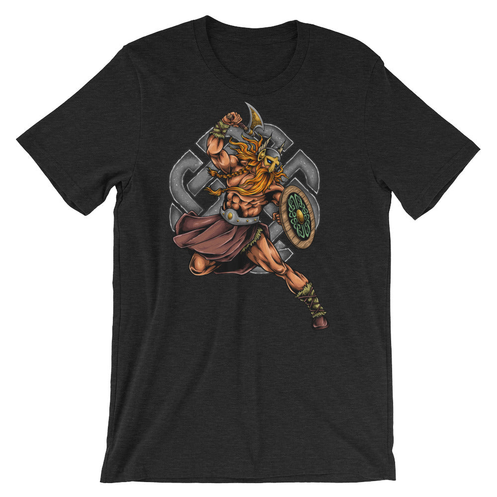 Viking Warrior Short-Sleeve Unisex T-Shirt - Apparelized