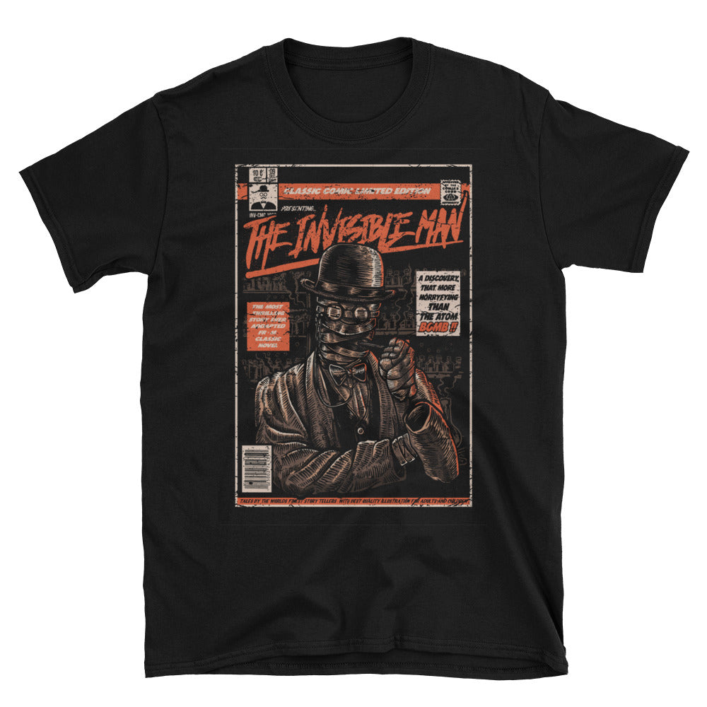 Invisible Man Short-Sleeve Unisex T-Shirt - Apparelized