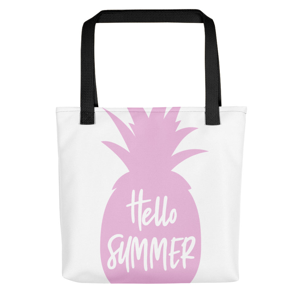 Hello Summer Pineapple Tote bag - Apparelized