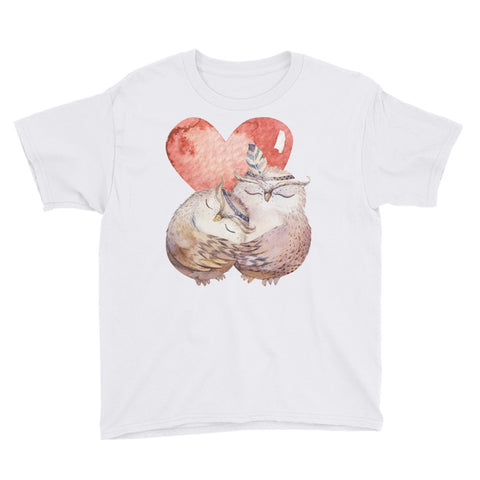 Love Owls Youth Short Sleeve T-Shirt - Apparelized