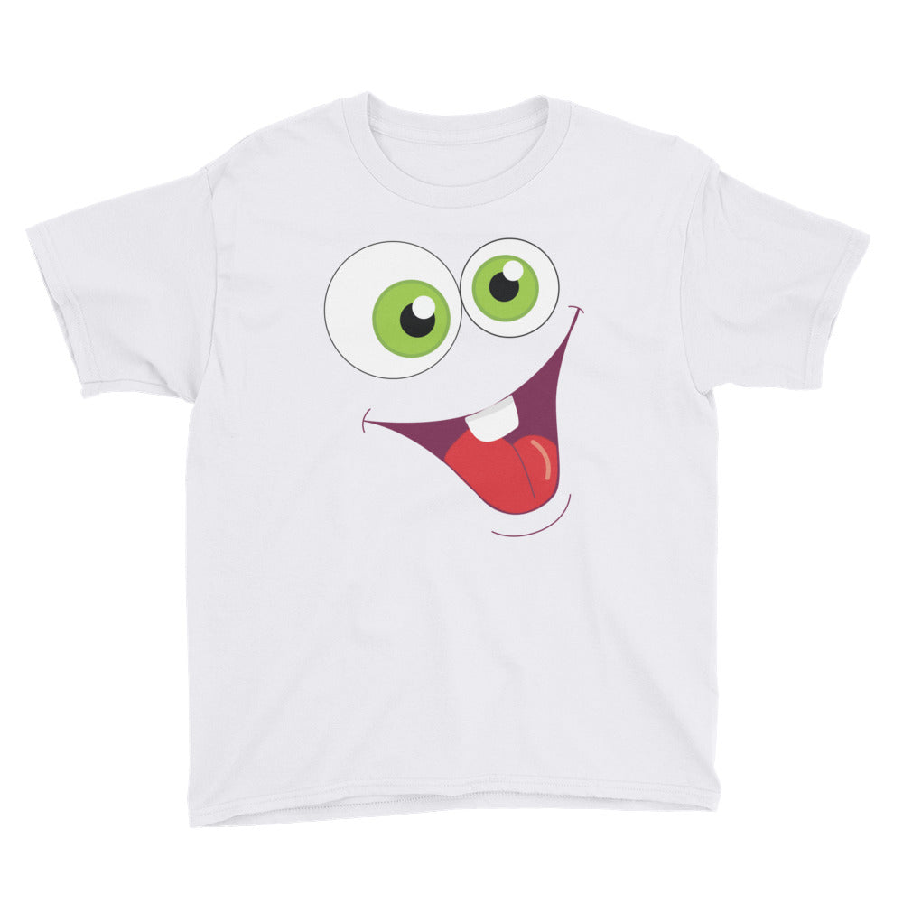 Silly Face Youth Short Sleeve T-Shirt - Apparelized