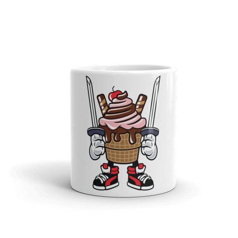 Samurai Cupcake Mug - Apparelized
