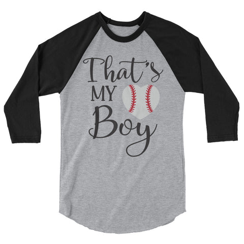 That's My Boy Baseball Shirt for Parents - Apparelized