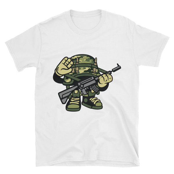 Soldier Unisex T-Shirt - Apparelized