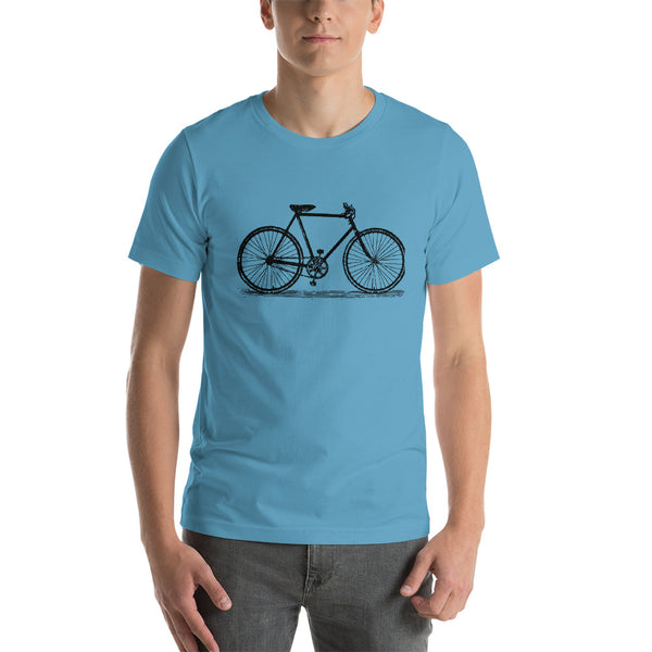 Vintage 10 Speed Bicycle Short-Sleeve Unisex T-Shirt - Apparelized