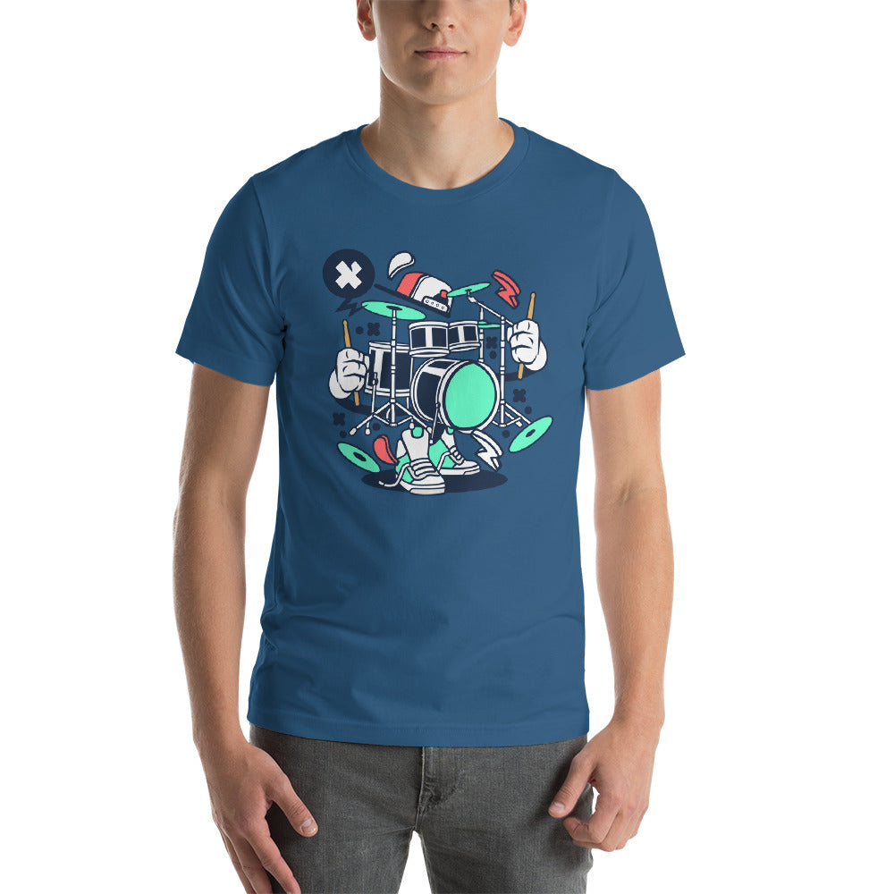 Hip Hop Drummer Short-Sleeve Unisex T-Shirt - Apparelized