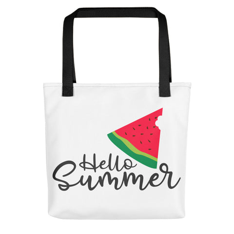 Hello Summer Watermelon Tote bag - Apparelized