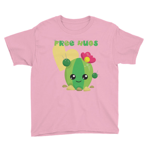 Cactus Free Hugs Cute Shirt for Kids - Apparelized