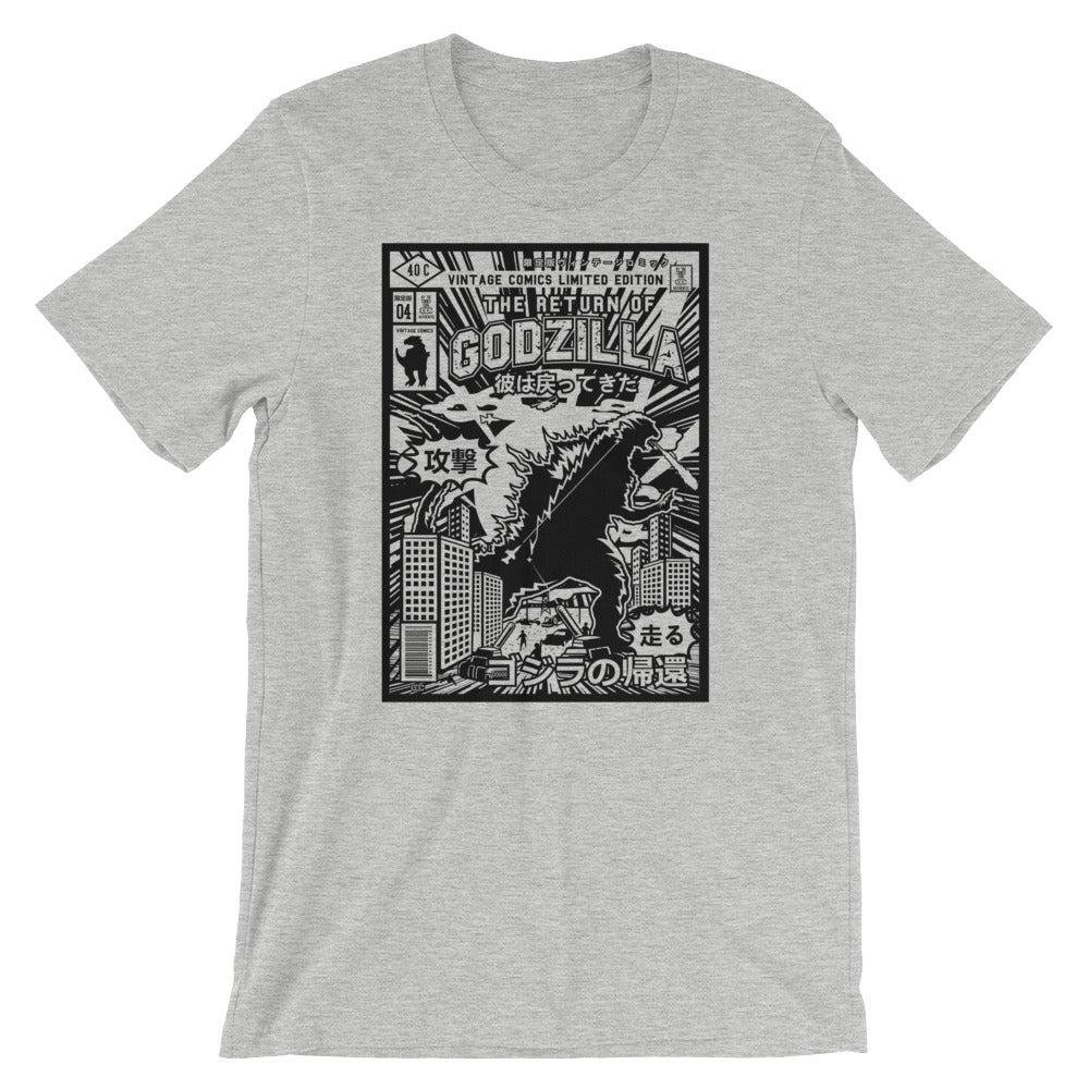 Godzilla Short-Sleeve Unisex T-Shirt - Apparelized