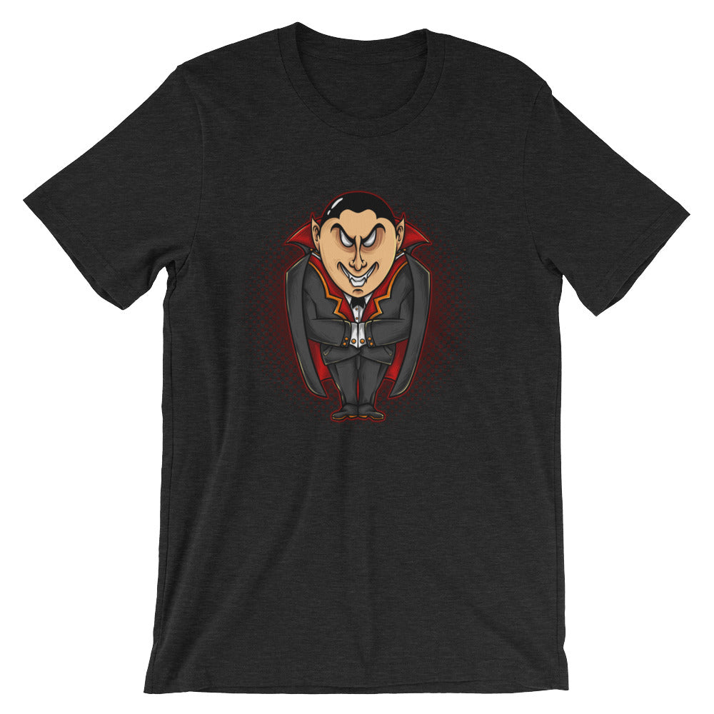 Vampire Cartoon Short-Sleeve Unisex T-Shirt - Apparelized