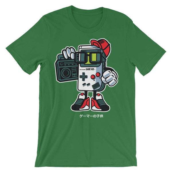 Gameboy Unisex short sleeve t-shirt - Apparelized