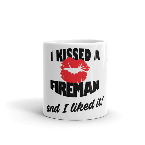 I Kissed a Fireman and I Liked It Mug - Apparelized