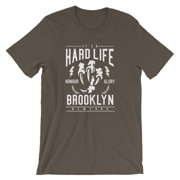 Hard Life Short-Sleeve Unisex T-Shirt - Apparelized