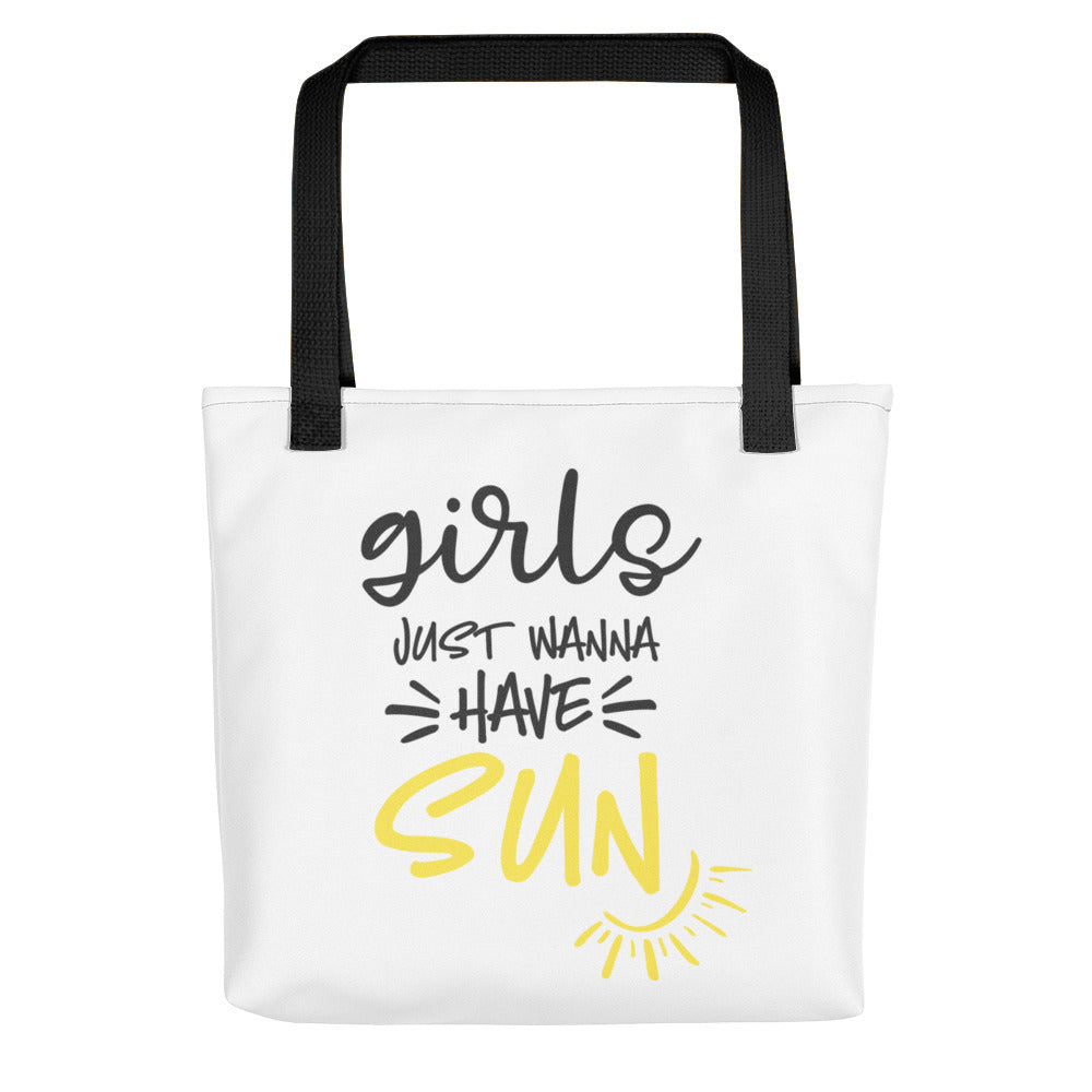 Girls Just Want to Have Sun Tote bag - Apparelized