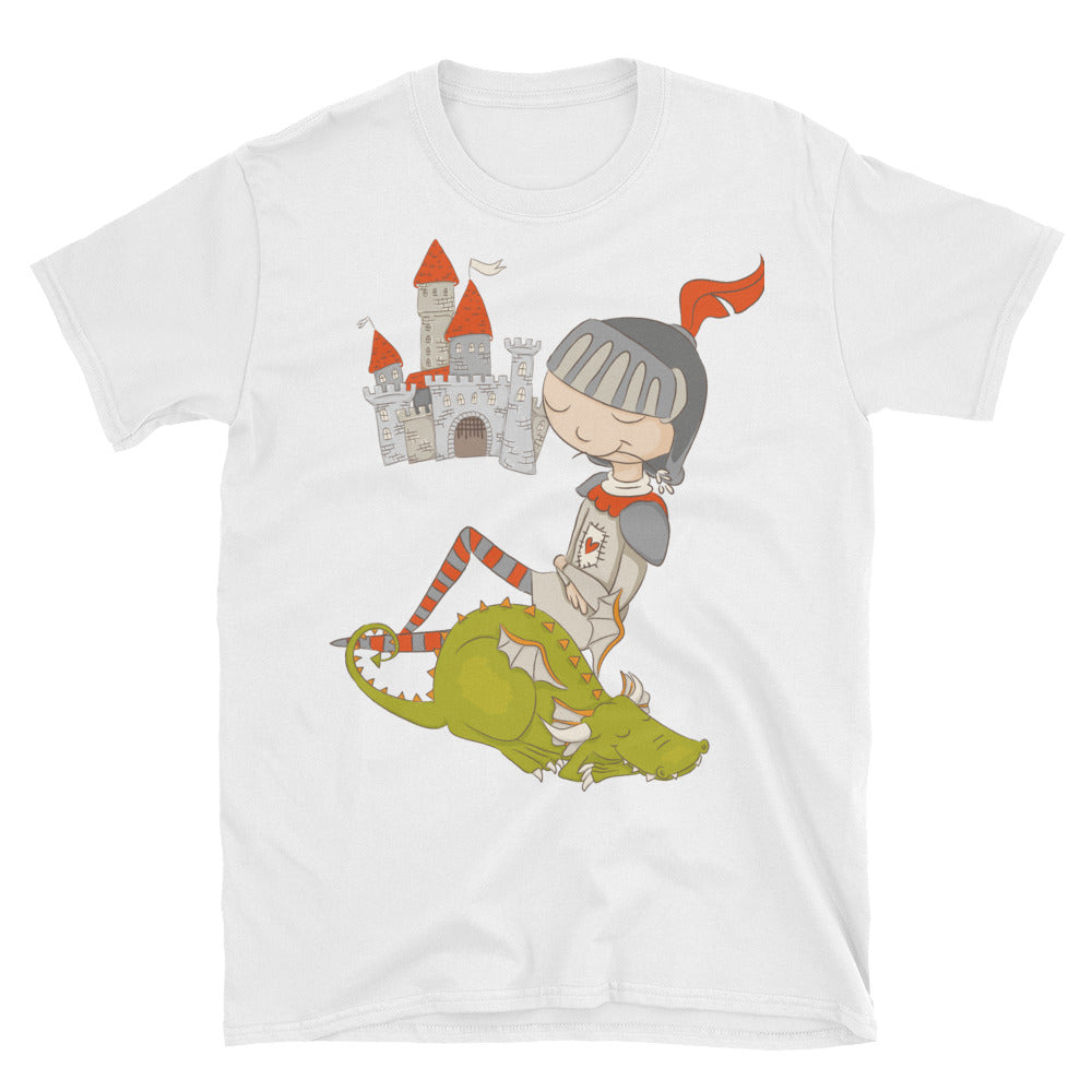 Dragons are a Boy's Best Friend Short-Sleeve Unisex T-Shirt - Apparelized
