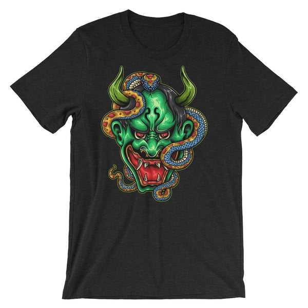 Demon Snake Creepy Ass Short-Sleeve Unisex T-Shirt - Apparelized