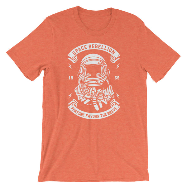 Space Rebellion Short-Sleeve Unisex T-Shirt - Apparelized